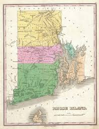 Ri Map File 1827 Finley Map Of Rhode Island Geographicus Rhodeisland