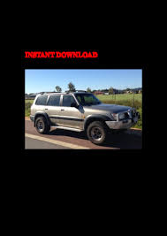 1998 nissan patrol gr y61 service repair factory manual instant downl u2026