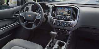 Chevy Truck Interior 2018 Colorado Mid Size Truck Chevrolet