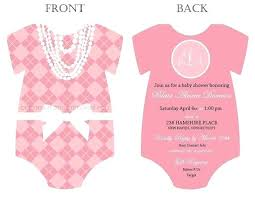 for baby shower onesie template onesie invitation template onesie invitation