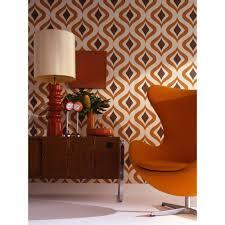 graham u0026 brown trippy orange removable wallpaper 15195 the home