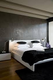 chambre gris et noir chambre à coucher chambres coucher design contemporain mur gris mat