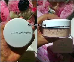 Bedak Tabur Wardah Anti Acne review acne powder wardah nine april