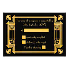 gatsby wedding invitations great gatsby wedding invitations announcements zazzle