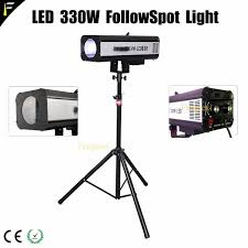 stage lighting tripod stands portable 330w led followspot with tripod stand focused beam for any
