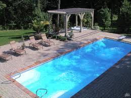 Deep Backyard Pool by Leisure Times Pools U2013 Featuring San Juan Fiberglass Pools U2013 Luxor Deep