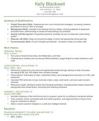 Summary Of A Resume Example by Sample Of Resume Skills And Abilities Resume Cv Cover Letter