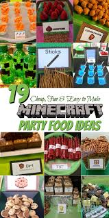 Minecraft Invitation Cards How To Host A Cheap Minecraft Birthday Party With Printables