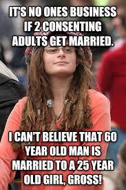 60 Year Old Girl Meme - livememe com college liberal