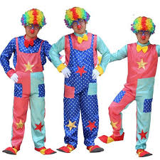 clown costumes colorful circus clown costumes magician costume