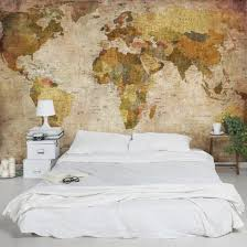 photo wall mural worldmap