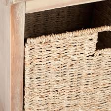 Wicker Storage Bench Amh5733b Benches Furniture By Safavieh