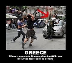 Greek Meme - greek ska police enforser