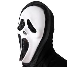 new scary ghost face scream mask creepy for halloween masquerade