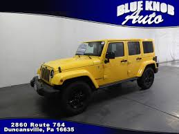 yellow jeep yellow jeep wrangler in pennsylvania for sale used cars on