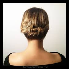 short hair with length at the nape of the neck short stuff medium hair short hair and updo