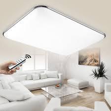 Led Deckenbeleuchtung Wohnzimmer Natsen 54w Moderne Led Deckenleuchten Wohnzimmer Deckenlampe