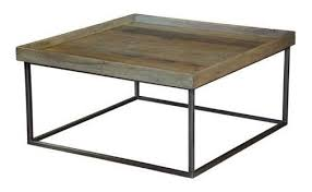 square tray for coffee table square tray coffee table by sarried ltd rustic coffee tables