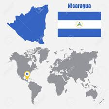 Flag Nicaragua Gray Location Map Of Nicaragua Donor Stories Heifer International