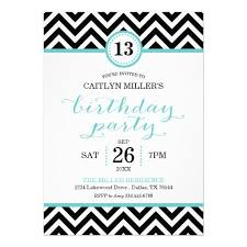 online birthday invitations trendy birthday party invitations zigzag chevron customize online