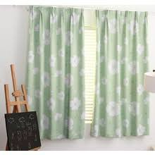 Green Kids Curtains Childrens Blackout Curtains