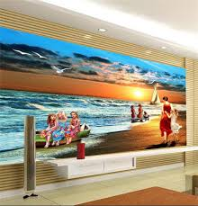 3d Wallpaper Home Decor Online Get Cheap Children Room Sea Wallpaper Aliexpress Com