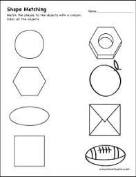 circle shape activity sheets for children