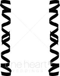 curly ribbon border of curling ribbon ribbon borders