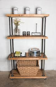 Industrial Bookcases Industrial Pipe Bookcase Well Groomed Home Office Craft Room
