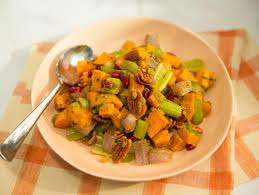 sweet potato pecan salad recipe geoffrey zakarian food network