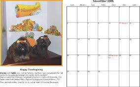 calendar 2005