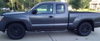toyota tacoma jacked up must read if considering 5 lug bigger tires and fat bobs lift