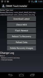 cwm recovery apk cwmr touch installer android apps on play