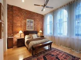 brick wall bedroom brick red paint bedroom with red brick wall
