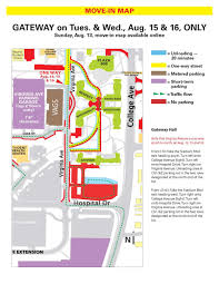 Mizzou Map Gateway Parking And Unloading Department Of Residential Life