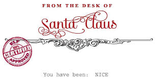 From The Desk Of Notepad From The Desk Of Santa Claus Clipart Clipartxtras