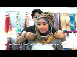 tutorial jilbab ala ivan gunawan tutorial hijab ala eva d academy part2 videomoviles com