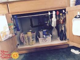 kitchen sink cabinet storage ideas kitchen sink cabinet organization ideas you can use