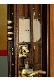 entry door security bolt a steel framed door featuring a five