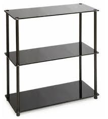 5 shelf bookcase silver modway target glass shelves target
