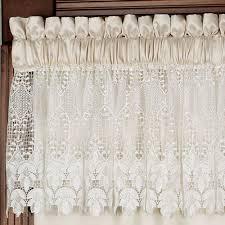 Lace Valance Curtains Trousseau Lace Curtains