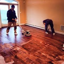 residential hardwood flooring refinishing repair monmouth county