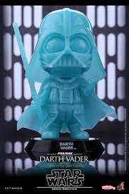 darth vader cosbaby gets holographic and glow in the dark special