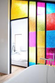 Plastic Toilet Partitions Bedroom Bathroom Partition In Colored Plastic Panels Diy Idea