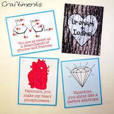 craftiments printable chemistry valentines some chemistry love puns