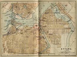 Map Of Ottawa Canada by