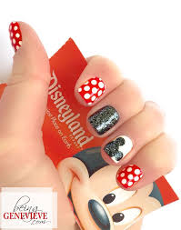 25 mickey nails ideas minnie mouse nails