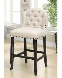 ivory chair amazing deal on maison bellay contemporary tufted wingback