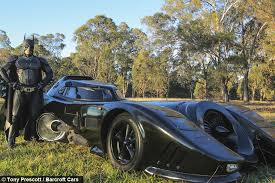 batmobile man spends building iconic car