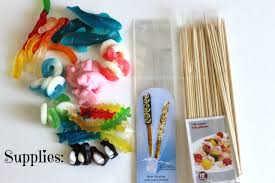 safari baby shower idea candy kebobs